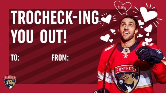 Trocheck valentine